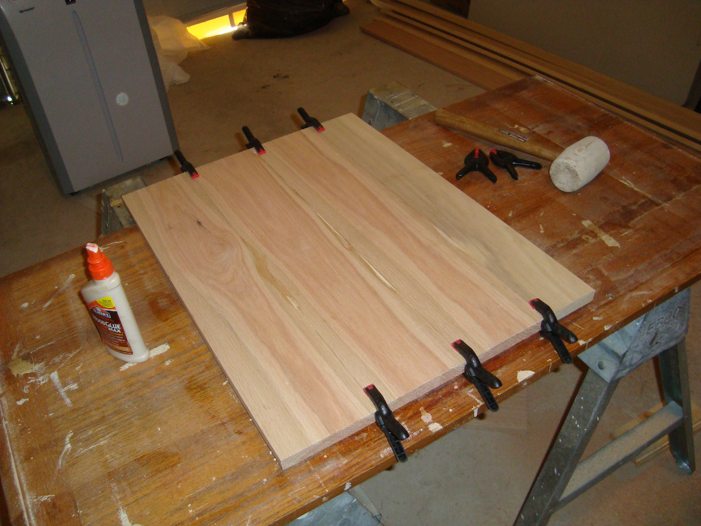 Изготовление клееного щита своими руками 76